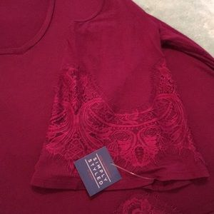 Simply Styled Tops - Plum colored top